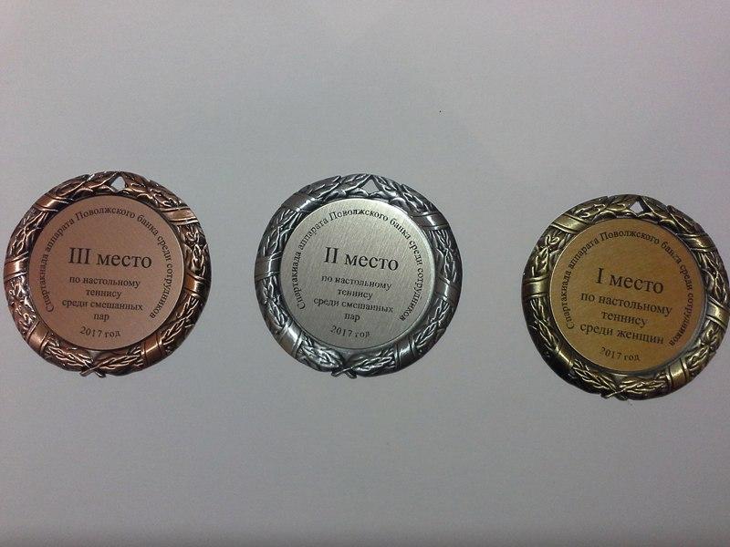 Видовые медали